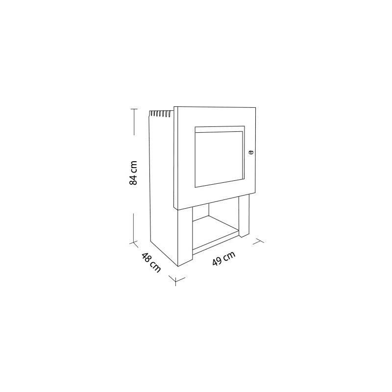 Amesti | Cubic 380 Gris